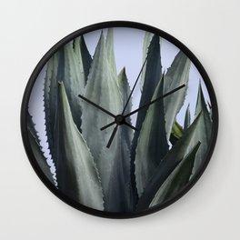 Succulent Plant  Wall Clock