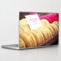 macaron Laptop & iPad Skins featuring Macaron by Emily Werboff