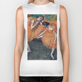Edgar Degas  -  Two Dancers Around Biker Tank