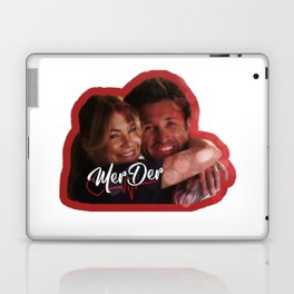 MerDer Grey's Anatomy Meredith & Derek Ship Laptop & iPad Skin