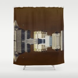 Floating City Shower Curtain
