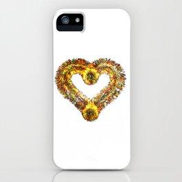 magma heart iPhone Case