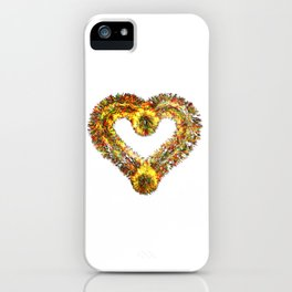 magma heart iPhone Case