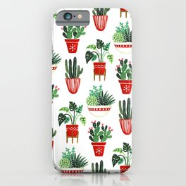 Holiday Plants iPhone Case