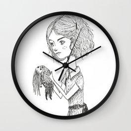 little dolls Wall Clock
