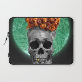Spiritual Skull Of The Gold Land And The Millstone Laptop Sleeve