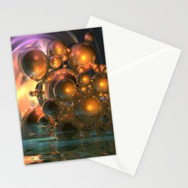 light and reflection Stationery Cards