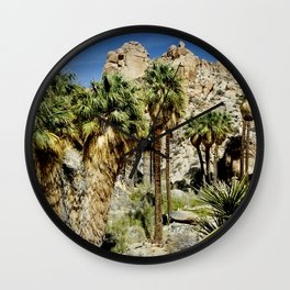 Thousand Palms Wall Clock