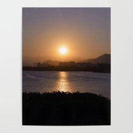 Sunset In Barra Poster