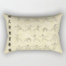 The Dancing Dragon Rectangular Pillow