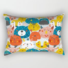 Monsters friends Rectangular Pillow