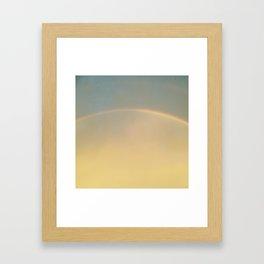Rainbow 1, Southern Hemisphere (after Joseph Turner & Johnny Cash) 2015 Framed Art Print