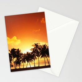 Sunset in Paradise II Stationery Cards