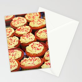Frosted Cupcakes Stationery Cards