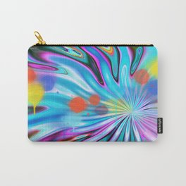 Abstract splash and water colour droplets Carry-All Pouch
