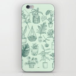 PLANTS LOVER iPhone Skin