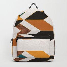 Modern Walnut Backpack