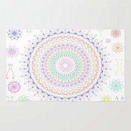Hippi Mandala Rug