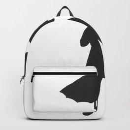 Rainy Ready Silhouette Female Backpack