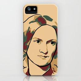Charlotte Brontë iPhone Case