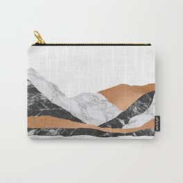 Marble Landscape I, Minimal Art Carry-All Pouch