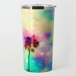 Pastel beauty palms Travel Mug