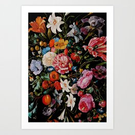 Night Garden XXXVI Art Print