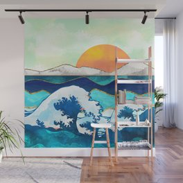 Stormy Waters Wall Mural