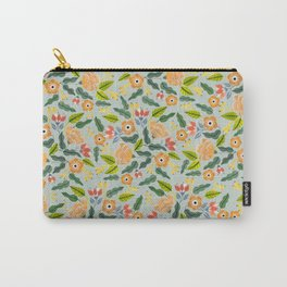 Happiest Flowers Carry-All Pouch
