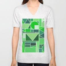 Kaku Green Unisex V-Neck