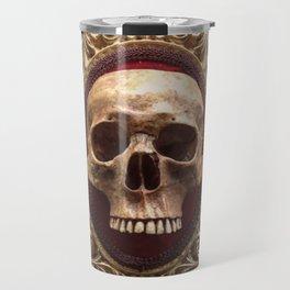 Catacomb Culture - Vintage Human Skull Travel Mug