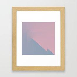 Pastel Pane 3 Framed Art Print