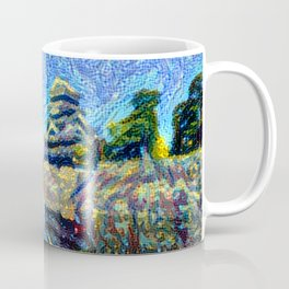 Crow Castle - Matsumoto Coffee Mug