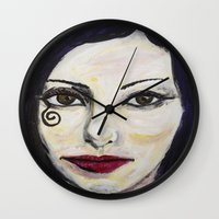 death Wall Clocks featuring DEATH by JANUARY FROST