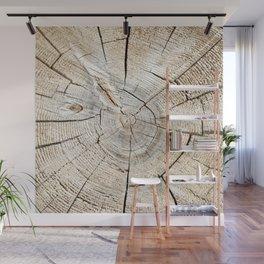 Wood Cut Wall Mural