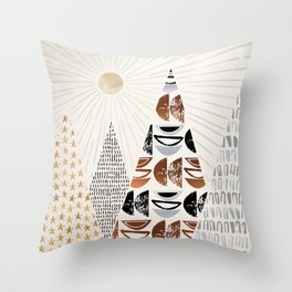 All The Magical Mountains Throw Pillow
