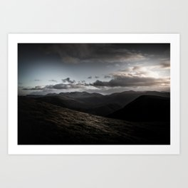 Dramatic Cumbria Art Print