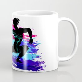 Martial arts, karate, yoga, aikido, judo, athlete Coffee Mug