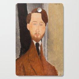 Leopold Zborowksi by Amedeo Modigliani, 1919 Cutting Board