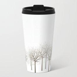 Winter Forest by Friztin Travel Mug
