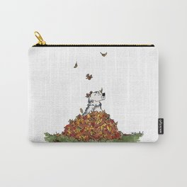 Saunders in Leaves Carry-All Pouch