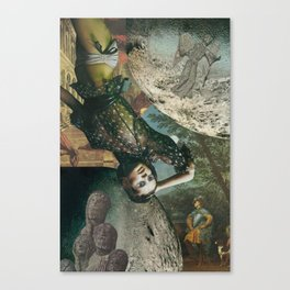 Big Girl's Blouse Canvas Print