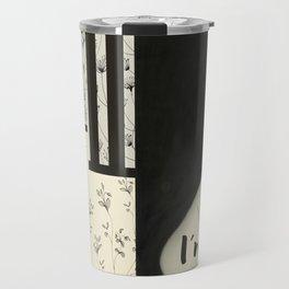 chinese ink illustration Travel Mug