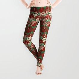 lotus diamond christmas Leggings