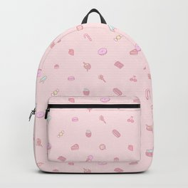 Sweets and Desserts - pink Backpack