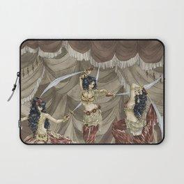 Midnight Circus: Sword Dancers Laptop Sleeve