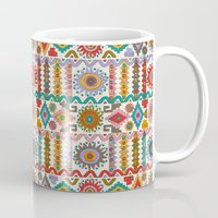 southwest Mugs featuring Southwest by Helene Michau