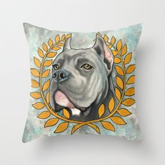 Cane Corso dog Throw Pillow