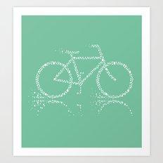Treebike Art Print