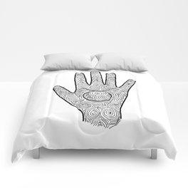 Hamsa / Hand Taurus Comforters